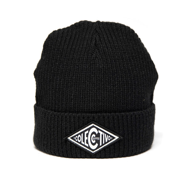 Colectivo Diamond Black Watch Cap