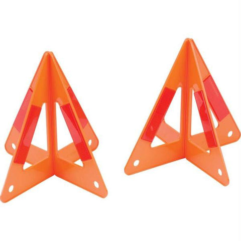 Picture of Maxam 2pc Set Of 3-d Roadside Hazard Triangles