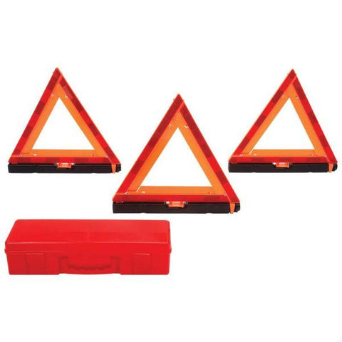 Picture of Maxam 4pc Set Of Roadside Hazard Triangles