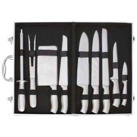 Picture of Slitzer 10pc Stainless Steel Cutlery Set In Case