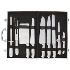 Slitzer 10pc Stainless Steel Cutlery Set In Case