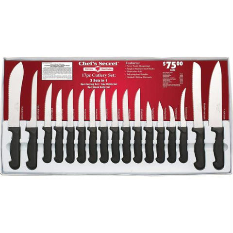 Picture of Chefs Secret 17pc Cutlery Set