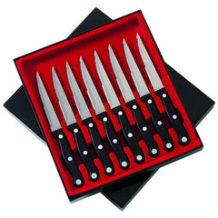"Slitzer 8pc 8-7/8"" Steak Knife Set"