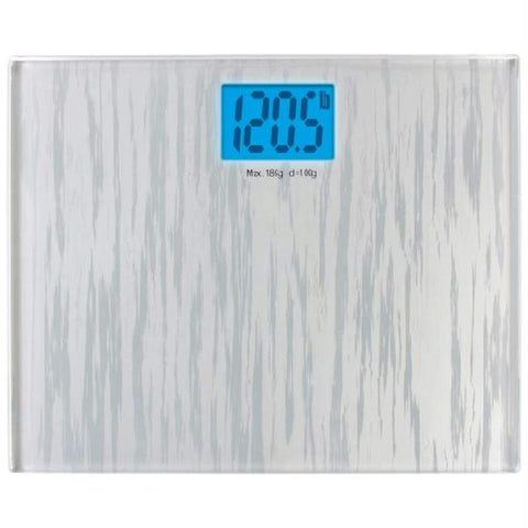 Picture of Healthsmart Large Glass Electronic Bathroom Scale