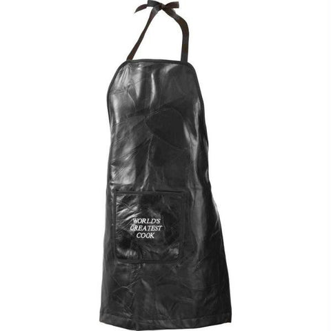 Picture of Casual Outfitters Rock Design Genuine Leather Barbeque Apron