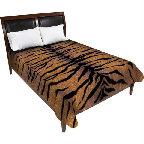 Picture of Wyndham House Tiger Print Heavy Luxury Blanket- Tiger Print