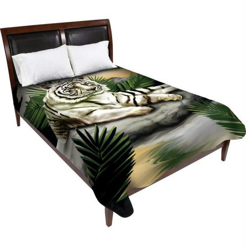 Picture of Wyndham House White Tiger Blanket