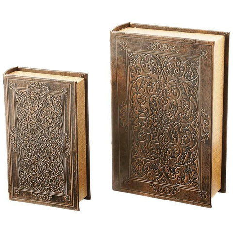 Picture of 2pc Faux Book Safe Set
