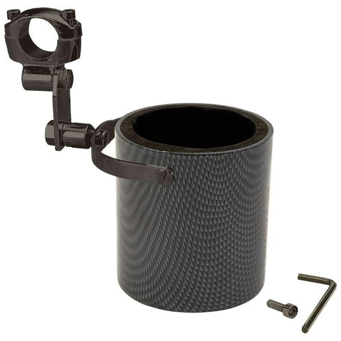 Picture of Diamond Plate Graphite Design Motorcycle Cup Holder