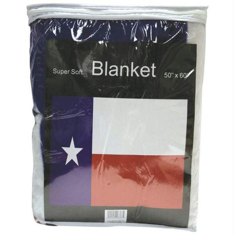 Picture of Texas State Flag Fleece Throw