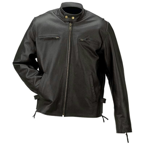 Picture of Rocky Mountain Hides Solid Genuine Buffalo Leather Jacket- Xl