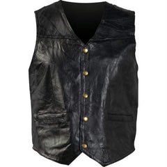12pc Giovanni Navarre Italian Stone Design Genuine Leather Vests