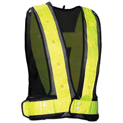 Diamond Plate Flashing Led Vest- (l/xl)