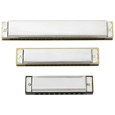 Picture of Maxam 3pc Harmonica Set