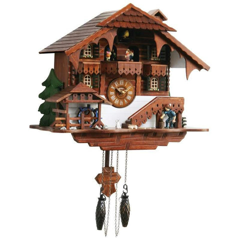 Picture of Kassel Large Cuckoo Clock With Multiple Moving Facets