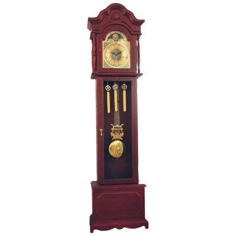 Picture of Edward Meyer Grandfather Clock With Mother-of-pearl Inlay