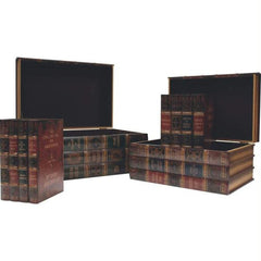 Kassel 4pc Decorative Storage Trunk Set