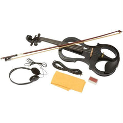 Maxam Full Size Electric Violin With Case And Bow