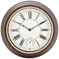 "Brookwood 12"" Round Wall Clock"