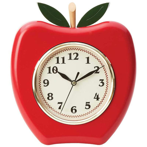 Picture of Brookwood Apple Shaped Wall Clock