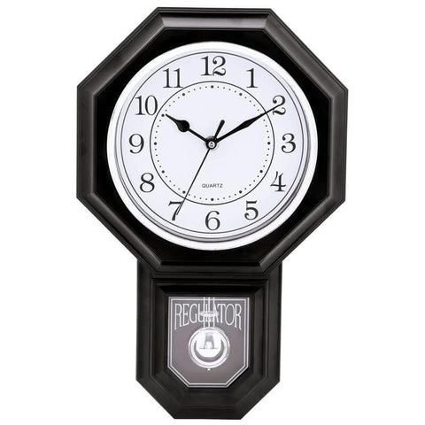 Picture of Brookwood Regulator-shaped Wall Clock