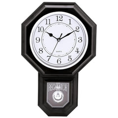 Brookwood Regulator-shaped Wall Clock