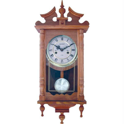 Picture of Kassel 15-day Oak Wall Clock- Day Oak Wall Clock