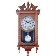 Kassel 15-day Oak Wall Clock- Day Oak Wall Clock