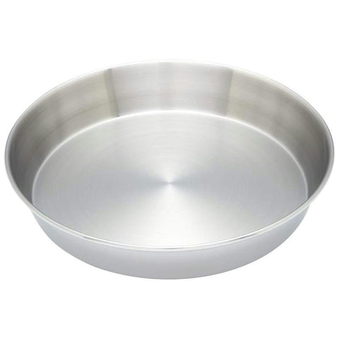 "Picture of Maxam Stainless Steel Cake Pan- 1/2"" Ss Baking Cake Pan"
