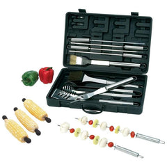 Chefmaster 20pc Stainless Steel Barbeque Tool Set