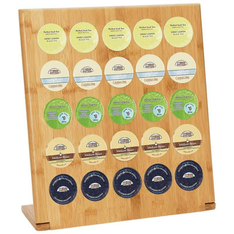 Picture of Healthsmart Bamboo 25-cup Rack