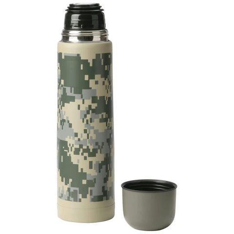 Picture of Maxam 25oz (.74l) Double Wall Bottle With Digital Camo
