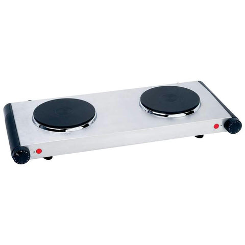 Picture of Maxam Electric Double Burner Hotplate