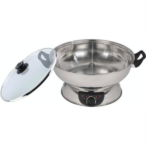 Picture of Precise Heat 4.4qt Divided Electric Hot Pot
