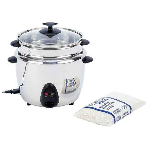 Picture of Precise Heat 1.9qt (1.8l) Stainless Steel Interior & Exterior Rice Cooker
