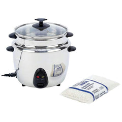 Precise Heat 1.9qt (1.8l) Stainless Steel Interior & Exterior Rice Cooker