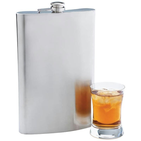 Picture of Maxam 64oz Jumbo Stainless Steel Flask