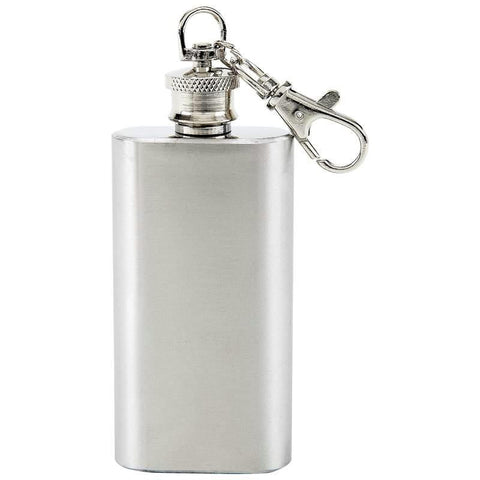 Picture of Maxam 2oz Stainless Steel Keychain Flask
