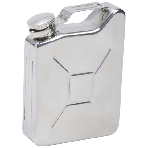 Picture of Maxam 5oz Stainless Steel Gas Can Flask