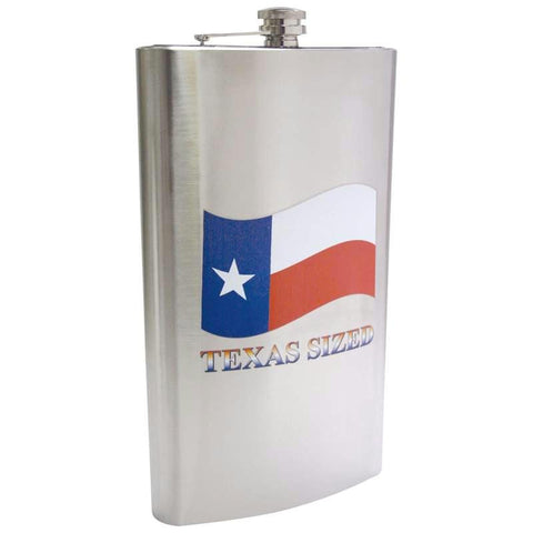 Picture of Maxam 1 Gallon Stainless Steel Flask With Texas Sized Imprint