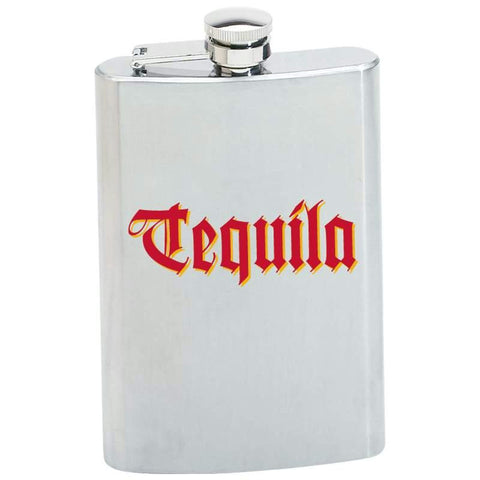 Picture of Maxam 8oz Stainless Steel Flask- Tequila