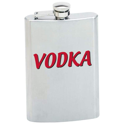 Picture of Maxam 8oz Stainless Steel Flask- Vodka