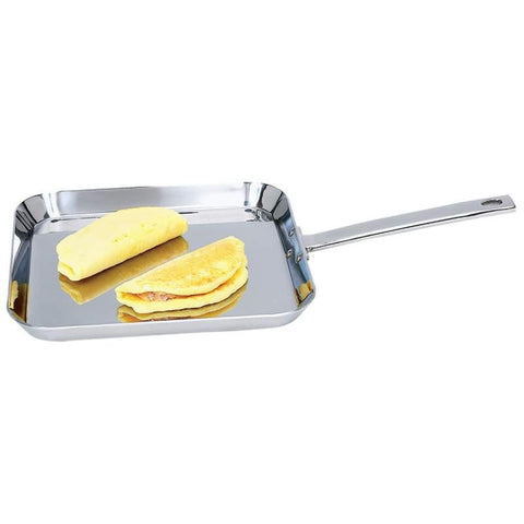 "Picture of Chefs Secret By Maxam 11"" T304 High-quality Stainless Steel Square Griddle"