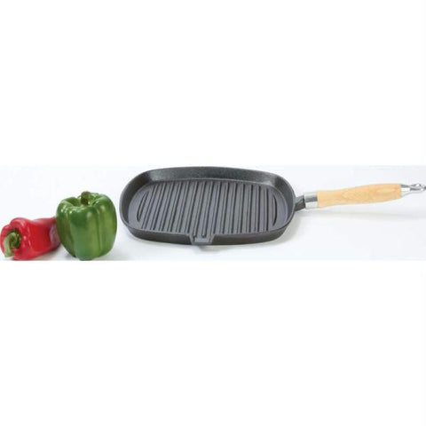 "Picture of Country Morning Cast Iron Square 11"" Griddle Pan"