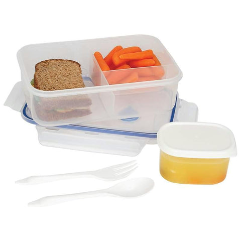 Picture of Lacuisine 34oz Locking Divided Lunch Container