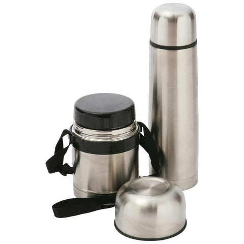 Picture of Maxam High-quality Stainless Steel Hot Lunch Set