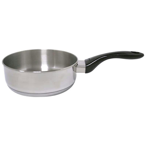 "Picture of Precise Heat 12-element T304 Stainless Steel 8"" Saucepan"