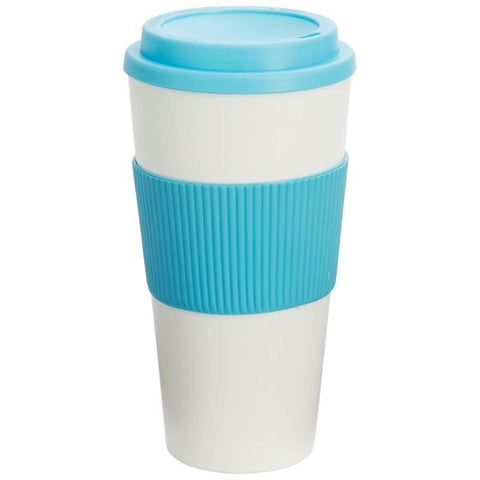 Picture of Wyndham House 24oz Tumbler With Light Blue Wrap And Lid- Wrap
