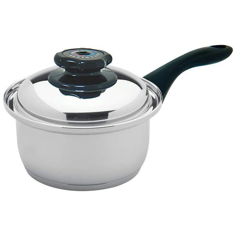 Picture of Maxam 9-element 1.7qt Saucepan With Cover- Elem 1.7qt Pan W/cover