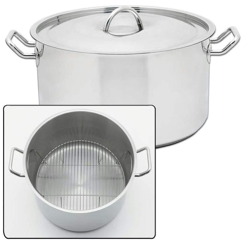 "Picture of Precise Heat 42qt ""waterless"" Stockpot"